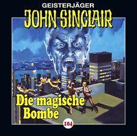 JOHN SINCLAIR-FOLGE 104 - DIE MAGISCHE BOMBE  CD NEW