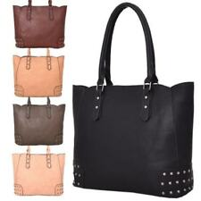 Beige Leather Large Bags & Handbags for Women