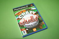 Crazy Golf World Tour Sony PlayStation 2 PS2 Game - Liquid Games