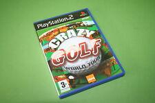 Crazy Golf World Tour Sony PlayStation 2 PS2 Juego-Juegos de líquido