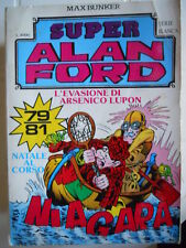 Raccolta Alan Ford Serie Bianca n°27 comprende 79 80 81  [G280A]