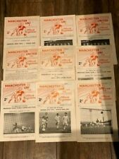 More details for 9 diff manchester united youth programmes 1961-63 (inc g best debut) you choose