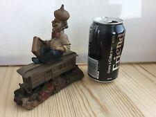 Vintage . Clark 1988 Boston Railway train. Grome figurine