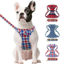 Floral Breathable Mesh Dog Vest Harness&Lead for Small Medium Dogs Jack Russell
