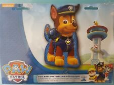 """LARGE CHASE PAW PATROL 23"""" X 31"""" FOIL HELIUM BALLOON."""