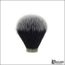 Maggard Razors 20mm Black & White Synthetic Shaving Brush Knot Only
