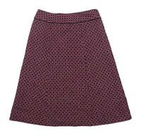 Oasis Womens Size 8 Wool Blend Purple Skirt (Regular)