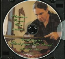 Completing the Hand-Forged Rifle Barrel with Mike Miller (DVD) / black powder