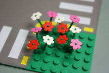 LEGO Bulk Flowers x4 Minifig Town Train Trees City Friends Creator PARTY FAVOURS