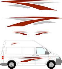 88 - Camper Van Graphics, Motor Home Vinyl Graphics Kit, Decals / Stickers.