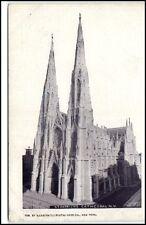 New York USA Amerika ~1920/30 St. Patrick Cathedra  Straßenpartie Street View