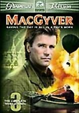 Macgyver - The Complete Third Season (Dvd, 2005, 5-Disc Set) New Factory Sealed