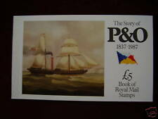 Gb Prestige Booklet'The Story of P. & O.'Type Dx 8 (Mint+Complete)