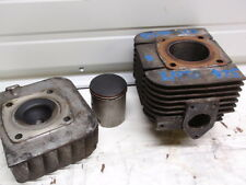 Yamaha Enticer 300 Snowmobile Engine L/PTO Std. Bore Cylinder, Piston, and Head