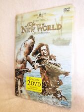 The New World SteelBook [DVD: 2, 2 Disc Special Edition] Colin Farrell (ITALY)