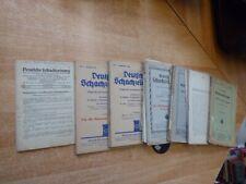 Konvolut mit ca. 33 Heften der Deutschen Schachzeitung 1916-1944