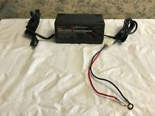 SCHUMACHER Battery Companion 1.5 amp slow charge charger maintainer SEM-1562A gc