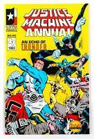 Justice Machine Annual #1 (1983 Texas Comics) First Elementals 1st App.! NM
