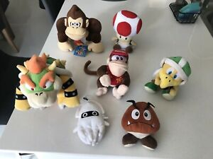 Super Rare Mario Plushies. 2 from San-ei 2003