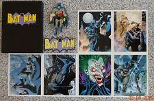 Batman Pin Badge Batman Magnet 6 Batman Postcard Set. .