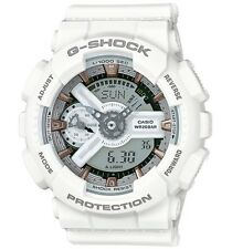 Casio G Shock * GMAS110CM-7A2 S-Series Semigloss White w/Rose Gold COD MOM17
