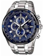 Casio EF539D-2AV Men's Edifice Stainless Steel Blue Dial Chronograph Watch