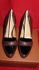 coach garnet patent/patent merlot/black pump womens shoes Retails $158 size 7