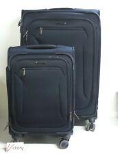 NEW Samsonite Explore Eco 2-Piece Softside Spinner Set Luggage | Navy Suitcase
