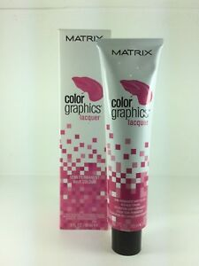 MATRIX COLOR GRAPHICS LACQUER SEMI PERMANENT HAIR COLOR 85ML TUBE