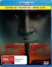 Fright Night (Blu-ray, 2012, 3D)