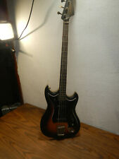 vintage 1967 Hagstrom 4-String Bass Guitar