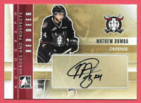 2011-12 Mathew Dumba ITG In The Game Heroes & Prospects Rookie Auto - Wild
