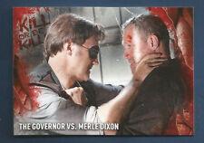2016 TOPPS SURVIVAL BOX GOVERNOR VS MERLE DIXON KILL OR BE KILLED INSERT #4