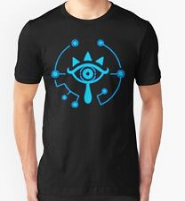 Official Nintendo Switch Zelda Breath Of The Wild Sheikah T-Shirt Size Small