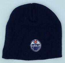 2fdbdf5a13cd1 NHL Edmonton Oilers Youth Cuffless Winter Knit Beanie Cap Hat NEW!