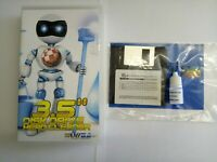 "Pro Disk Drive Head Cleaner Diskette Kit for 3.5"" Drives  Amiga, Atari Acorn PC"