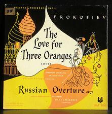 Prokofiev The love for three oranges RSO Rother Russian ov. Steinkopf LP & CV EX