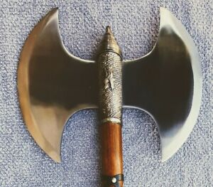 """NEW! 33"""" Double Medieval Axe"""