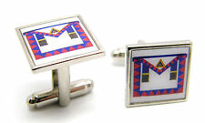 Royal Arch Chapter Provincial Masonic Apron Badge Cufflinks Regalia & Gift Pouch