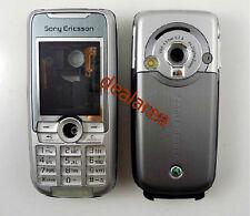 Silver Housing Cover Case Fascia Faceplate facia for Sony Ericsson K700 K700i