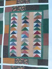 Disney Fort Wilderness Cabins Wall Art Fabric with hidden Mickeys / Prop / New