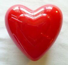Valentine's Day Red Heart Plastic Heart inside Heart design Opens