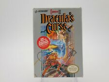 CASTLEVANIA III: Dracula's Curse (for NES, 1990) Complete with Manual Tested!