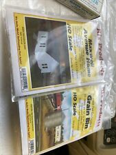 Rix Products HO Scale 33' Tall Corrugated Grain #628-0304 0201 New (tr314