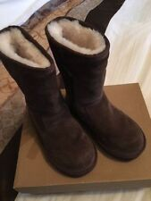 UGG Australia Boots Suede Zip Shoes for Girls