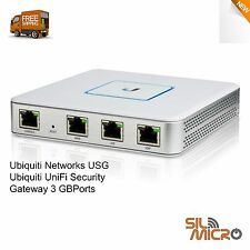 Ubiquiti USG UniFi Security Gateway Enterprise Router 3 Giga Port VPN Firewall