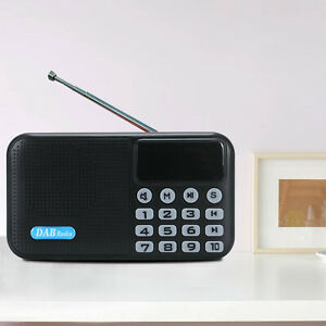 DAB /DAB+ Digital Radio Portable with FM Rechargeable Battery Bluetooth Speaker.