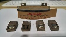 VINTAGE MOTOROLA RADIO DIAL & STATION SELECTOR KNOBS FROM SAN ANTONIO