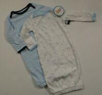 NEW Circo Baby Boys 2 Piece Lot Newborn Sleep Sacks Gowns Pajamas Set One Piece