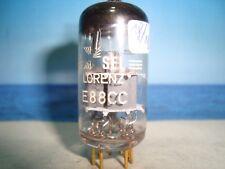 E88CC TELEFUNKEN # Label Lorenz # NOS # ( CCa , 6DJ8 ) # <> # (991)